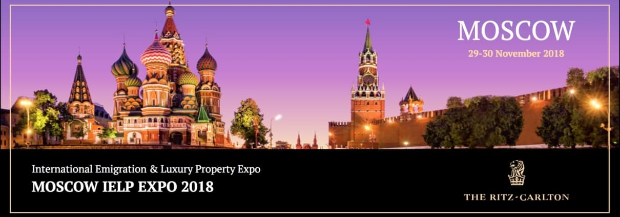 Internationa Emigration and Luxury Property Expo Moscow
