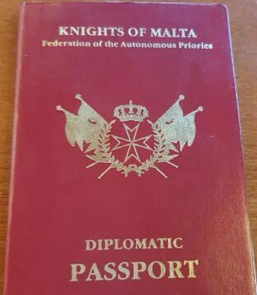 Паспорт псевдо-Ордена