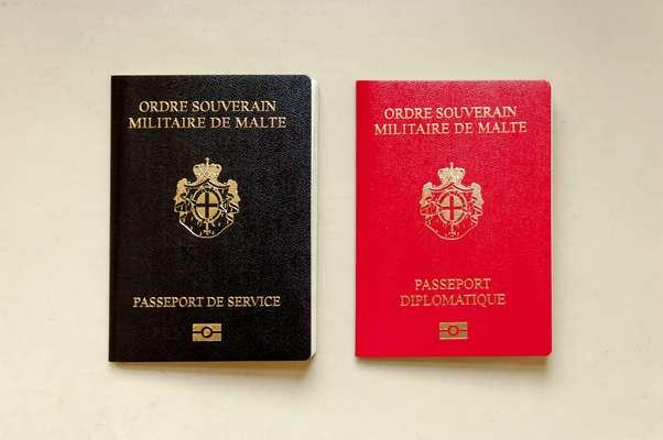 Паспорта Мальтийского Ордена