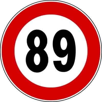 89 limit